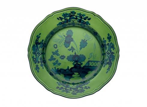 Ginori 1735 Oriente Italiano Malachite Flat Dessert Plate $85.00