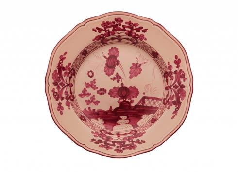 Ginori 1735 Oriente Italiano Vermiglio Flat Dessert Plate $85.00