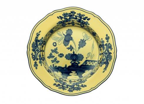 Ginori 1735 Oriente Italiano Citrino Flat Dessert Plate $85.00