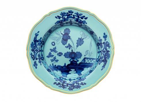 Ginori 1735 Oriente Italiano Iris Flat Dessert Plate $100.00