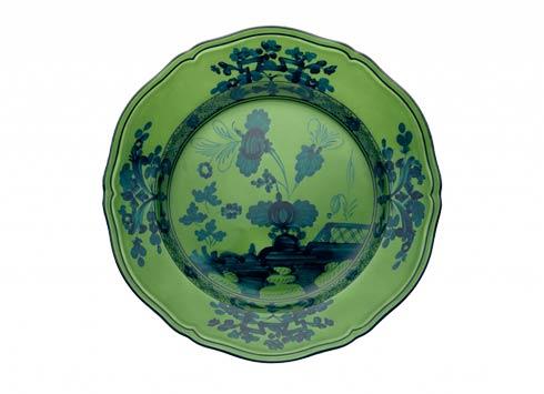 Ginori 1735 Oriente Italiano Malachite Flat Dinner Plate $95.00