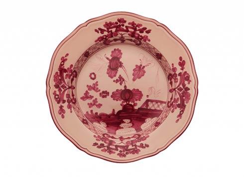 Ginori 1735 Oriente Italiano Vermiglio Flat Dinner Plate $95.00