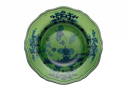 Ginori 1735 Oriente Italiano Malachite Soup Plate $100.00