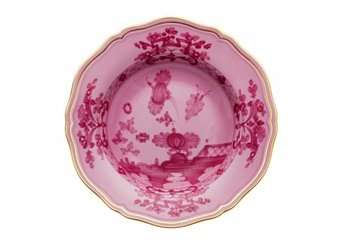 Ginori 1735 Oriente Italiano Porpora Soup Plate $125.00