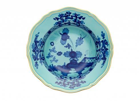 Ginori 1735 Oriente Italiano Iris Soup Plate $125.00