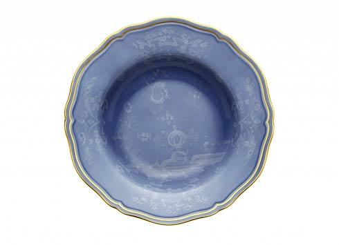 Ginori 1735 Oriente Italiano Pervinca Soup Plate $125.00