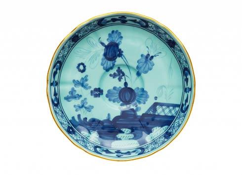 Ginori 1735 Oriente Italiano Iris Tea Saucer $70.00