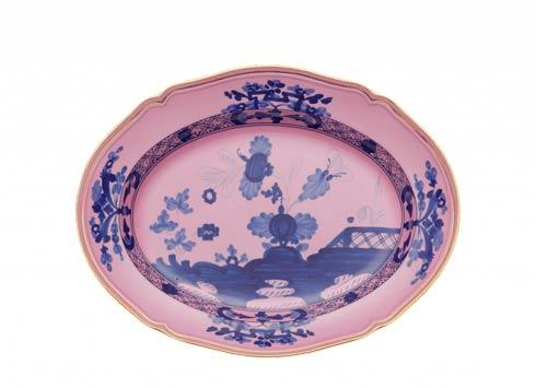 Ginori 1735 Oriente Italiano Azalea Oval Flat Platter $325.00