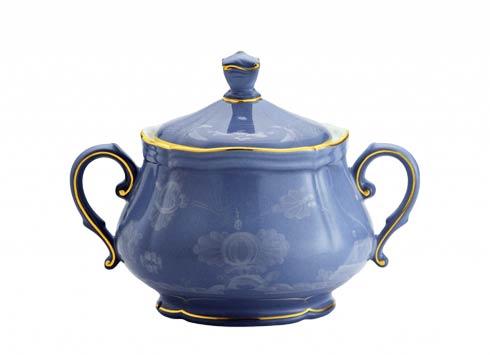 Ginori 1735 Oriente Italiano Pervinca Sugar Bowl with Cover for 6 $365.00