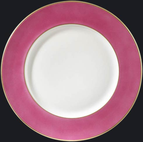 Richard Ginori 1735  Charger Plates Romantic Pink W/Gold Rim Charger - 16675 $145.00