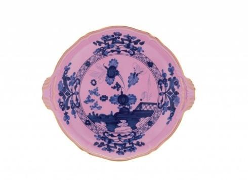 Ginori 1735 Oriente Italiano Azalea Cake Plate with Handles $350.00