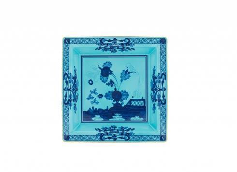 Ginori 1735 Oriente Italiano Iris Square Vide Poche, Large $225.00