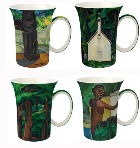 $45.99 Carr Set of 4 Mugs