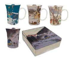 $0.00 Gagnon Set of 4 Mugs