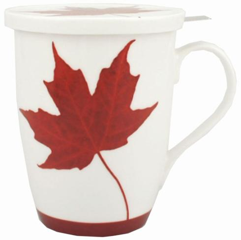 $21.99 Memories of Canada Tea Mug with Infuser & Lid