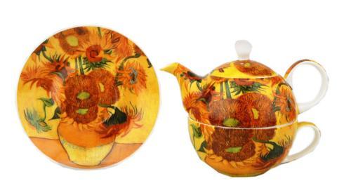 $38.99 Van Gogh Sunflowers Tea for One