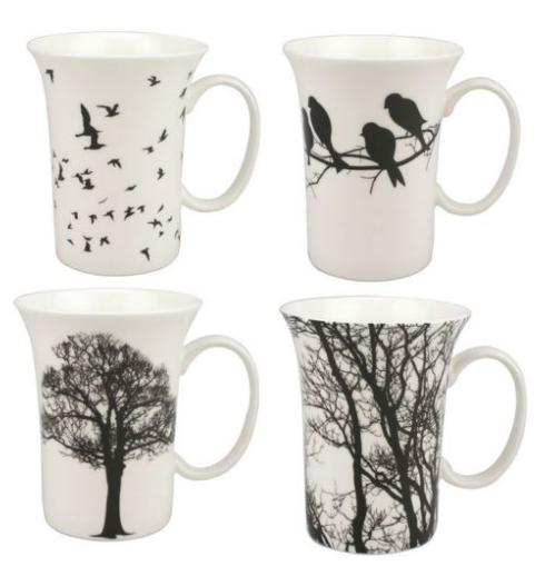 Set of 4 Mugs collection