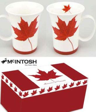 $27.99 Memories of Canada Mug Pair