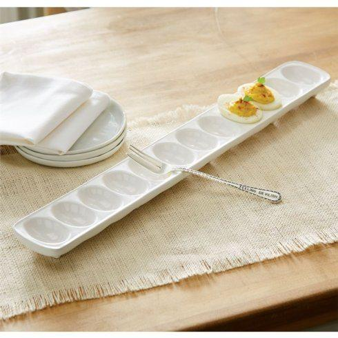 Mudpie   Deviled Egg Tray Set $30.00