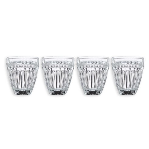 Lenox   French Perle S/4 Double Old Fashioned Glasses $39.95