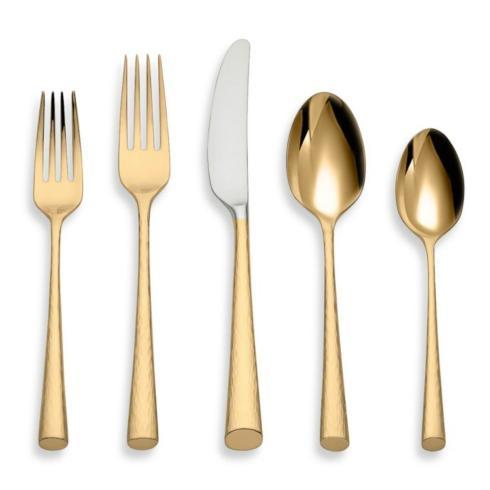 Lenox   Imperial Caviar Gold 5 PC Place Setting $90.00