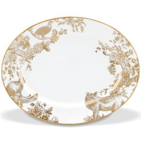 Lenox   Gilded Forest Oval Platter $300.00