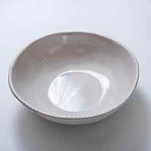 Relish Beaded Taupe Serving Bowl $44.00