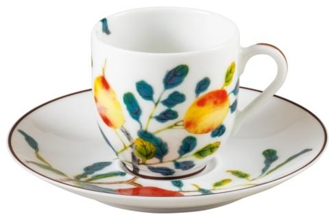 $195.00 Coffee Cup/Saucer in Round Giftbox – 2.4 in, 4 oz