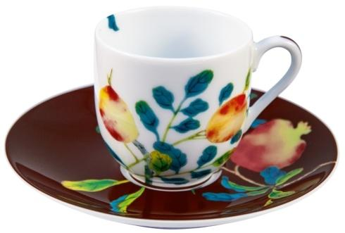 $195.00 Coffee Cup & Saucer 2.4 in 4 oz Brown / Round GBX