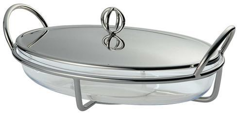 $1,030.00 Latitude Oval Gratin Dish With Cover