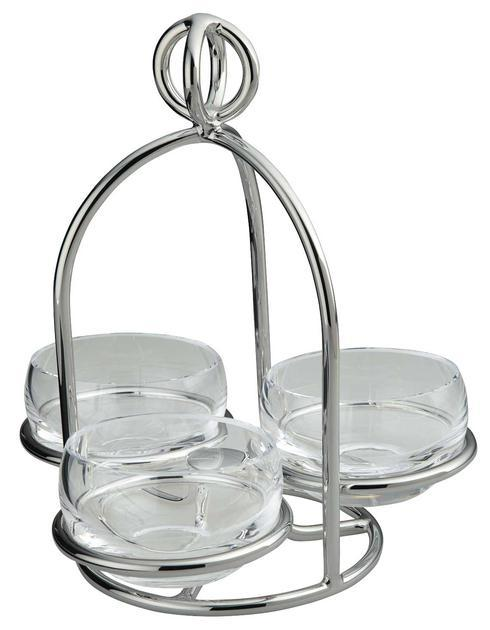 $545.00 Latitude Snack Server 3 Dishes