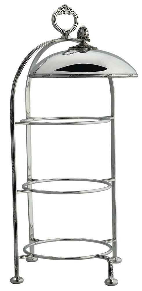 $3,185.00 Lauriers Three Tier Plate Stand