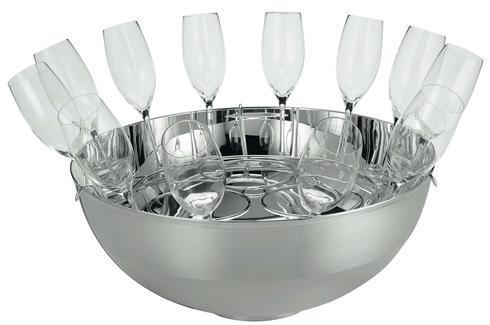 $2,850.00 Transat Champagne set 12 glasses