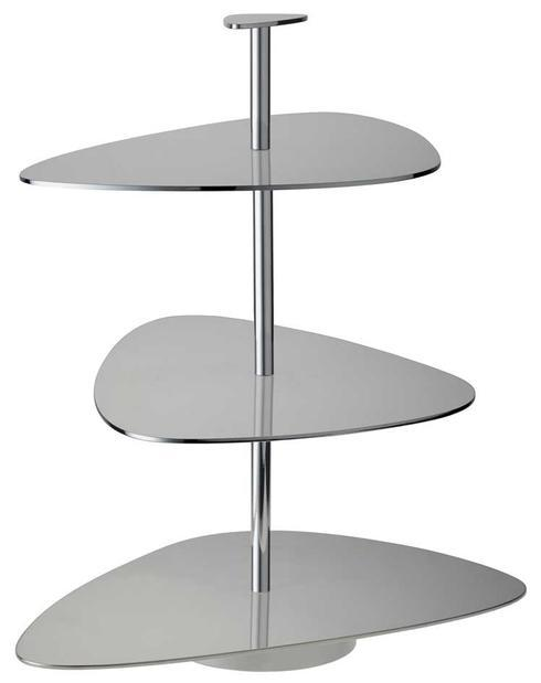 $530.00 Stainless Steel 3-Tiered Stand