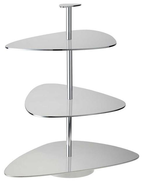 $760.00 Silver Plate 3-Tiered Stand