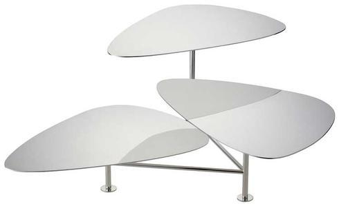 $1,500.00 Silver Plate 3-Tiered Stand with Swivelling Servers