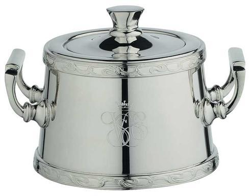 $2,060.00 Orient Express Sugar Bowl with Applied Border