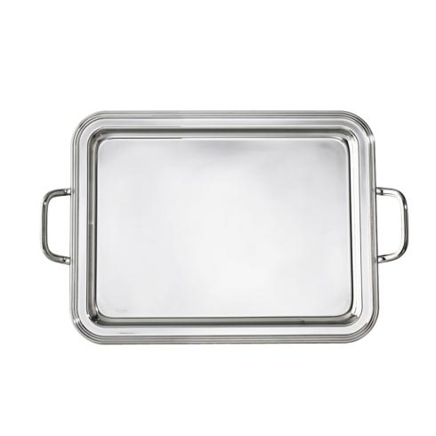 $175.00 Rectangular tray with handles