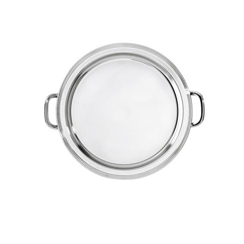 $130.00 Round tray with handles