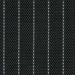 $10.00 Table Mat - Black Pin-Striped