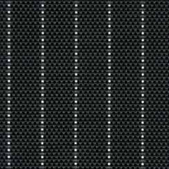 $10.00 Table Mat - Black Pin-Striped