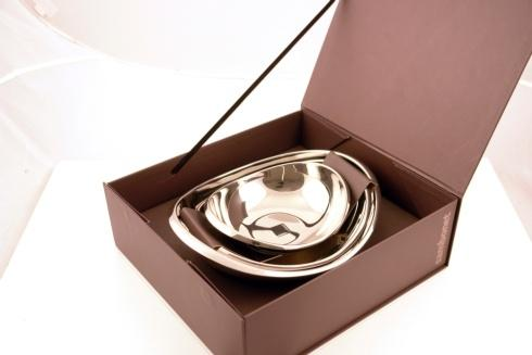$160.00 Twist bowl set, 3 pcs, giftboxed