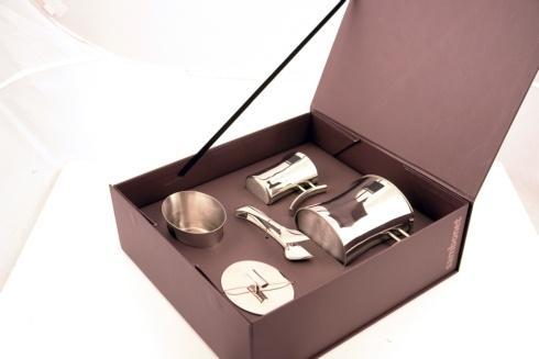 $424.00 Bamboo tea set, 4 pcs, giftboxed