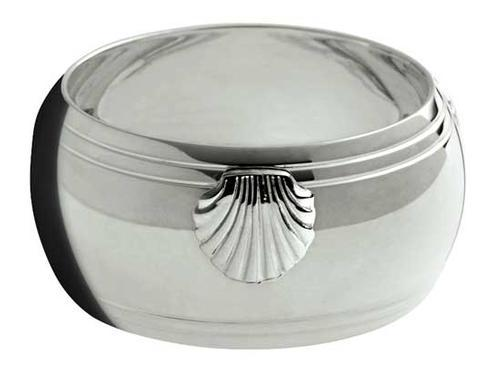 $555.00 Coquille Sterling Napkin Ring