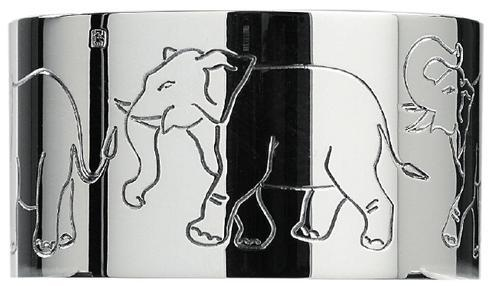 Elephants Napkin Ring