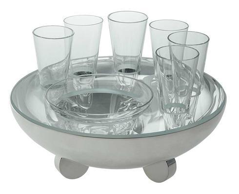 $1,630.00 Galet Caviar- Vodka Bowl