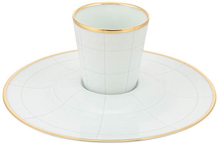 City White Expresso Cup and Saucer