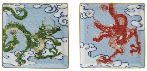Raynaud  Constellation - Dragon Set of 2 Small Trays $217.00