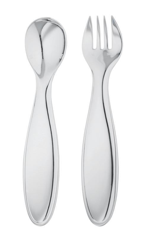 $280.00 Mistral Baby Flatware 2 Pieces In A Case