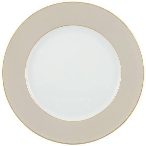 $125.00 Beige with Gold Filet Buffet Plate